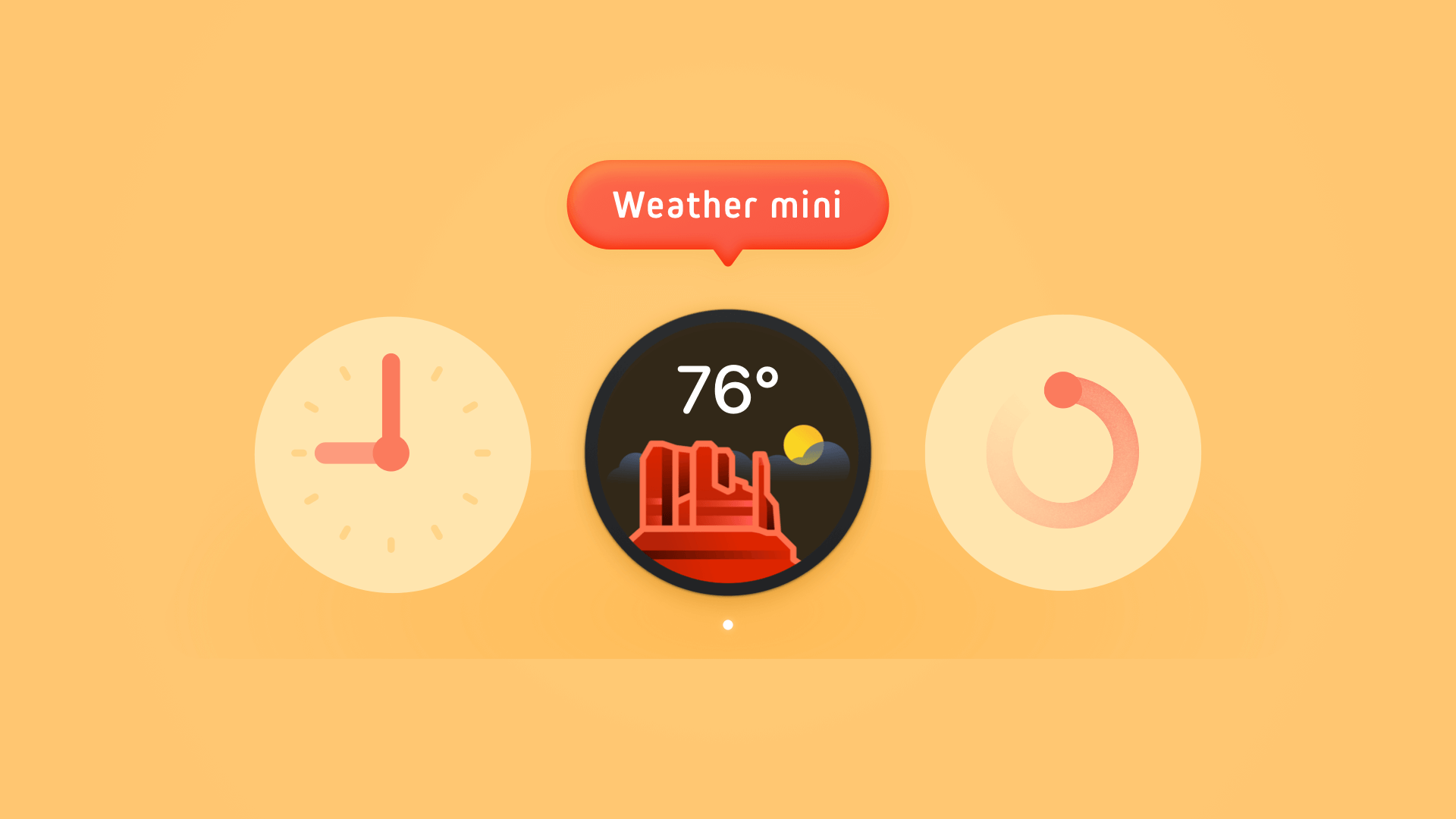 Weather mini for Mac
