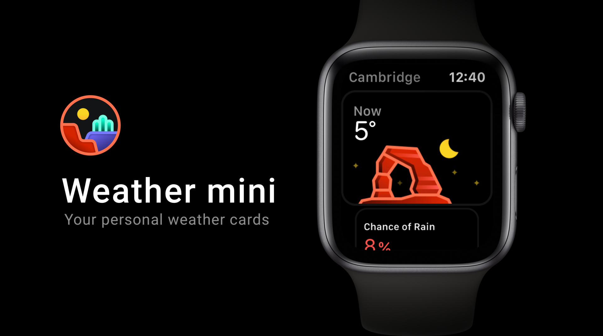 Weather mini for Apple Watch