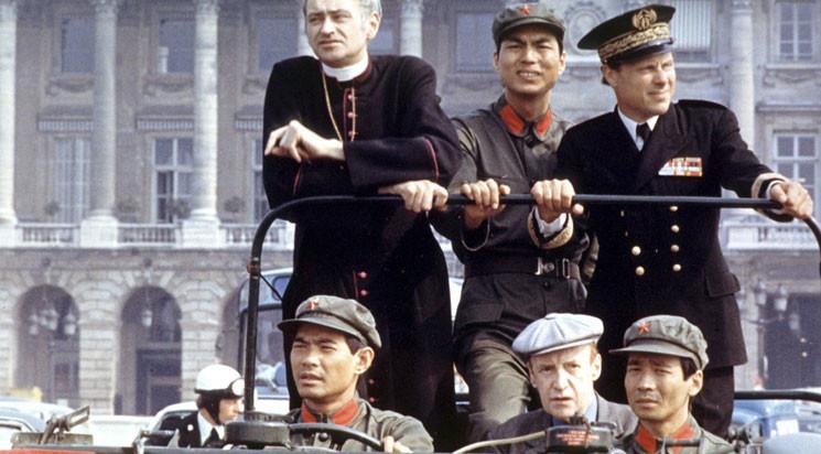《解放军在巴黎》的历史背景及八卦