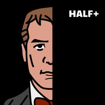 Half+