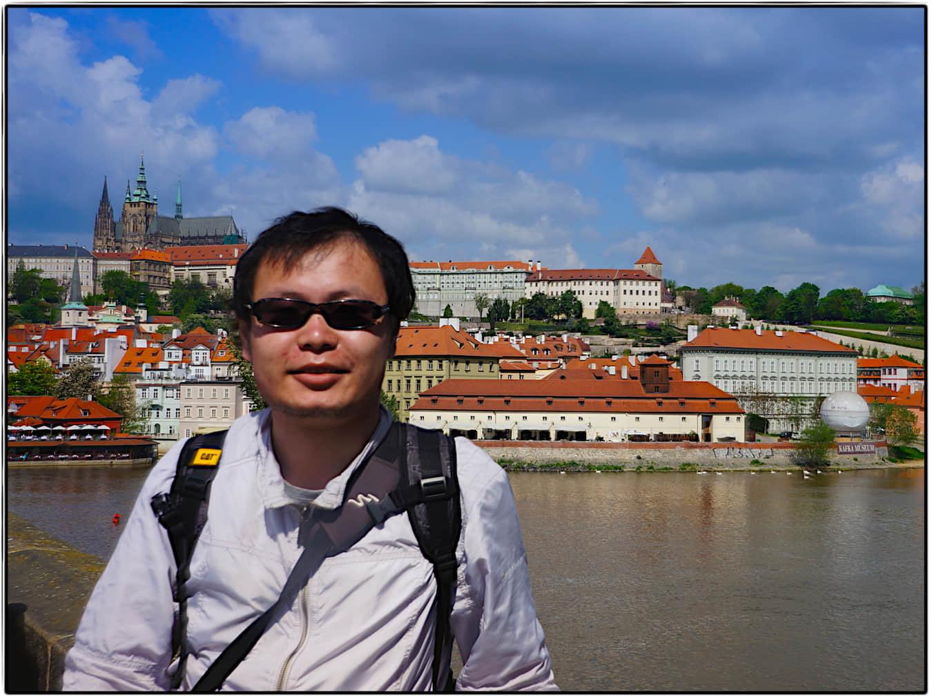 郝海龙在布拉格