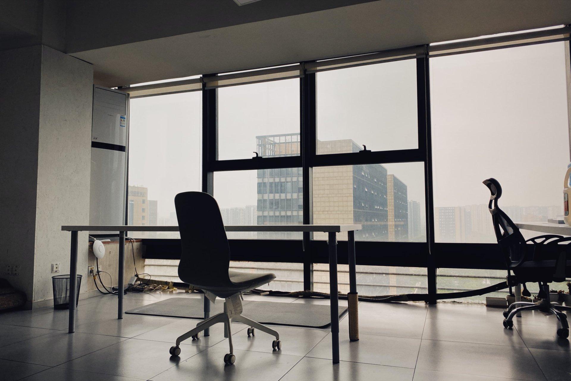 新办公室的配图