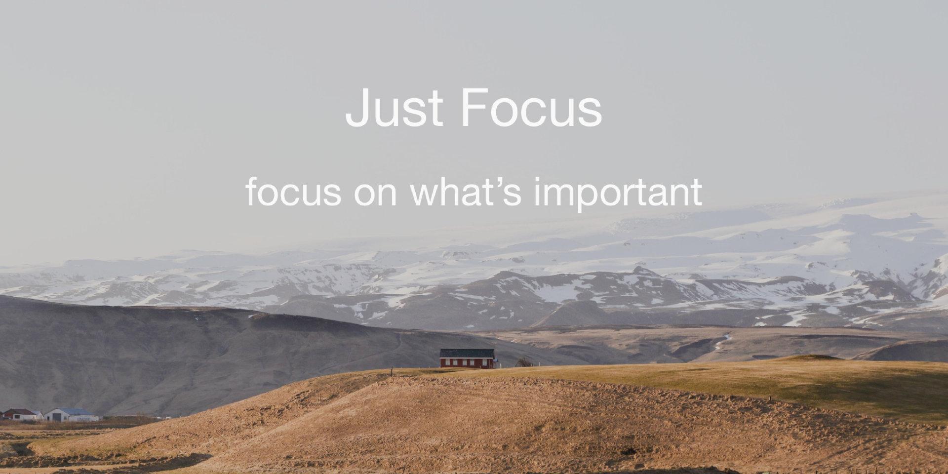 「创造性」是学习给我带来最大的愉悦:专访 Just Focus