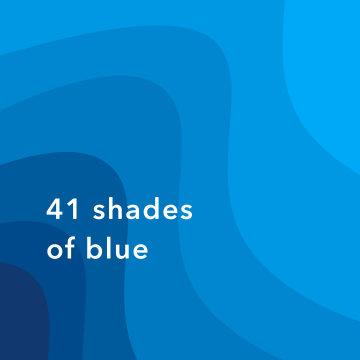 #68:41 种蓝色