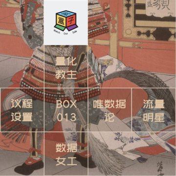 Box.013 用数据编织偶像幻境,或者构建生活秩序